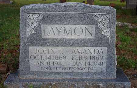 LAYMON, AMANDA - Searcy County, Arkansas | AMANDA LAYMON - Arkansas Gravestone Photos
