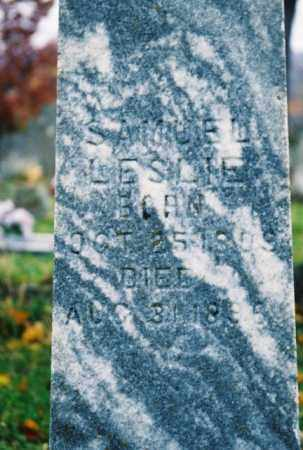 LESLIE, SAMUEL - Searcy County, Arkansas | SAMUEL LESLIE - Arkansas Gravestone Photos