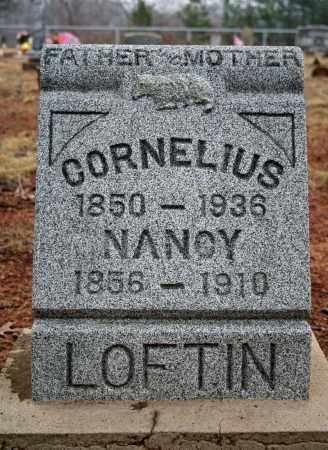 LOFTIN, CORNELIUS - Searcy County, Arkansas   CORNELIUS LOFTIN - Arkansas Gravestone Photos