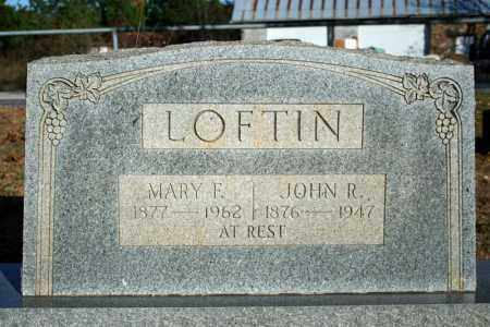 LOFTIN, MARY F. - Searcy County, Arkansas | MARY F. LOFTIN - Arkansas Gravestone Photos