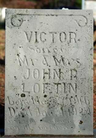 LOFTIN, VICTOR - Searcy County, Arkansas | VICTOR LOFTIN - Arkansas Gravestone Photos