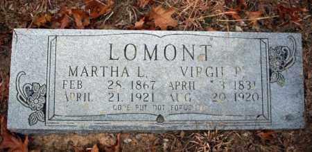 LOMONT, MARTHA L. - Searcy County, Arkansas | MARTHA L. LOMONT - Arkansas Gravestone Photos