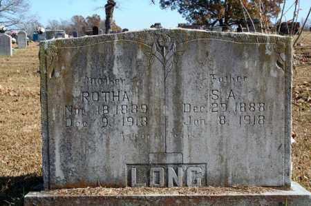 LONG, ROTHA - Searcy County, Arkansas | ROTHA LONG - Arkansas Gravestone Photos