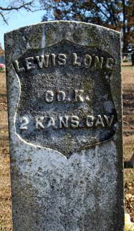LONG (VETERAN UNION), LEWIS - Searcy County, Arkansas | LEWIS LONG (VETERAN UNION) - Arkansas Gravestone Photos