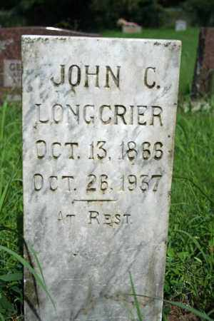 LONGCRIER, JOHN C. - Searcy County, Arkansas | JOHN C. LONGCRIER - Arkansas Gravestone Photos