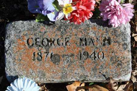 MANN, GEORGE - Searcy County, Arkansas | GEORGE MANN - Arkansas Gravestone Photos