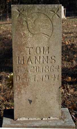 MANNS, TOM - Searcy County, Arkansas | TOM MANNS - Arkansas Gravestone Photos