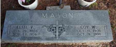 MASON, ELSIE V. - Searcy County, Arkansas   ELSIE V. MASON - Arkansas Gravestone Photos