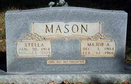 MASON, MAJOR A. - Searcy County, Arkansas | MAJOR A. MASON - Arkansas Gravestone Photos