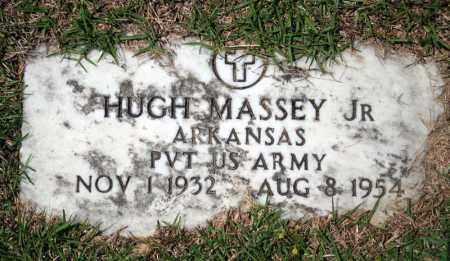 MASSEY, JR (VETERAN), HUGH - Searcy County, Arkansas   HUGH MASSEY, JR (VETERAN) - Arkansas Gravestone Photos