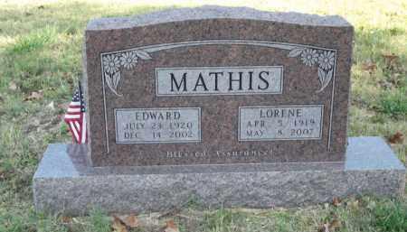 MATHIS, EDWARD - Searcy County, Arkansas | EDWARD MATHIS - Arkansas Gravestone Photos
