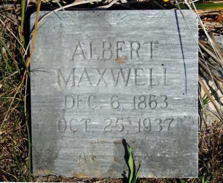 MAXWELL, ALBERT - Searcy County, Arkansas | ALBERT MAXWELL - Arkansas Gravestone Photos