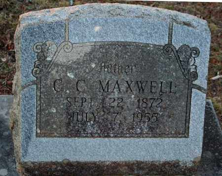 MAXWELL, C.C. - Searcy County, Arkansas | C.C. MAXWELL - Arkansas Gravestone Photos