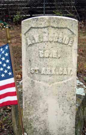 MCBRIDE (VETERAN UNION), A W - Searcy County, Arkansas   A W MCBRIDE (VETERAN UNION) - Arkansas Gravestone Photos