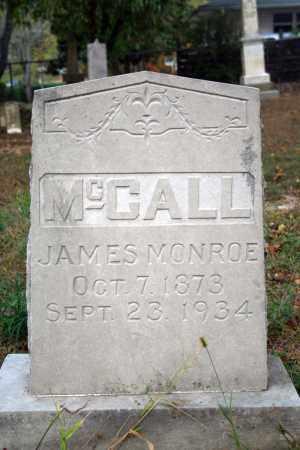 MCCALL, JAMES MONROE - Searcy County, Arkansas   JAMES MONROE MCCALL - Arkansas Gravestone Photos
