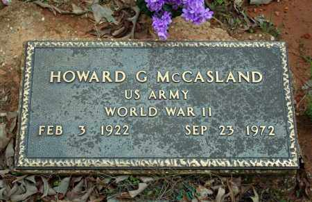 MCCASLAND (VETERAN WWII), HOWARD G - Searcy County, Arkansas | HOWARD G MCCASLAND (VETERAN WWII) - Arkansas Gravestone Photos