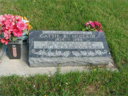 MCCLAIN, GATTIE B. - Searcy County, Arkansas | GATTIE B. MCCLAIN - Arkansas Gravestone Photos
