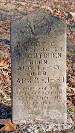 MCCUTCHEN, ALBERT C. - Searcy County, Arkansas   ALBERT C. MCCUTCHEN - Arkansas Gravestone Photos