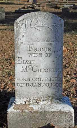 ABLES MCCUTCHEN, FRONIE - Searcy County, Arkansas | FRONIE ABLES MCCUTCHEN - Arkansas Gravestone Photos