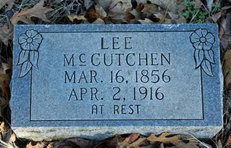MCCUTCHEN, LEE - Searcy County, Arkansas | LEE MCCUTCHEN - Arkansas Gravestone Photos