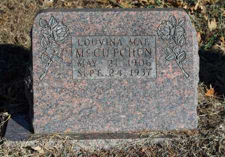 MCCUTCHEN, LOUVINA MAE - Searcy County, Arkansas | LOUVINA MAE MCCUTCHEN - Arkansas Gravestone Photos