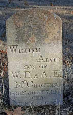 MCCUTCHEN, WILLIAM ALVIE - Searcy County, Arkansas | WILLIAM ALVIE MCCUTCHEN - Arkansas Gravestone Photos