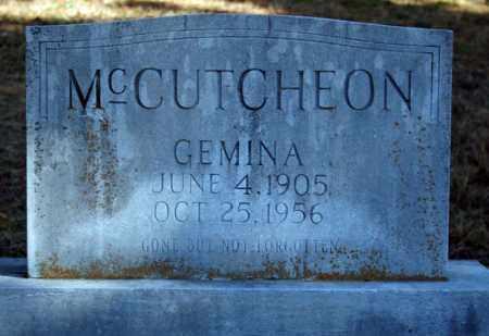 MCCUTCHEON, GEMINA - Searcy County, Arkansas | GEMINA MCCUTCHEON - Arkansas Gravestone Photos