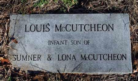MCCUTCHEON, LOUIS - Searcy County, Arkansas | LOUIS MCCUTCHEON - Arkansas Gravestone Photos