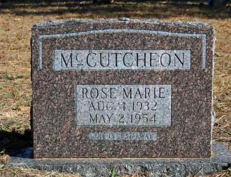 MCCUTCHEON, ROSE MARIE - Searcy County, Arkansas | ROSE MARIE MCCUTCHEON - Arkansas Gravestone Photos