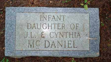 MCDANIEL, INFANT DAUGHTER - Searcy County, Arkansas | INFANT DAUGHTER MCDANIEL - Arkansas Gravestone Photos