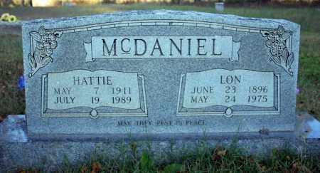 MCDANIEL, HATTIE - Searcy County, Arkansas | HATTIE MCDANIEL - Arkansas Gravestone Photos