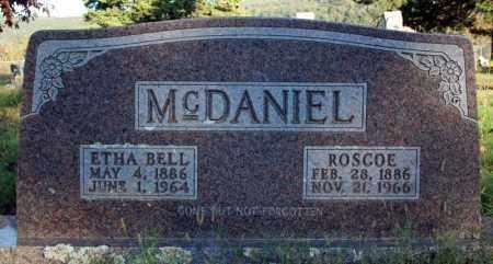 MCDANIEL, ETHA BELL - Searcy County, Arkansas   ETHA BELL MCDANIEL - Arkansas Gravestone Photos