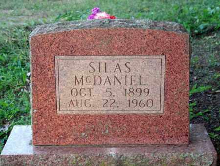 MCDANIEL, SILAS - Searcy County, Arkansas | SILAS MCDANIEL - Arkansas Gravestone Photos