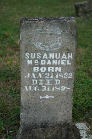 MCDANIEL, SUSANUAH - Searcy County, Arkansas | SUSANUAH MCDANIEL - Arkansas Gravestone Photos