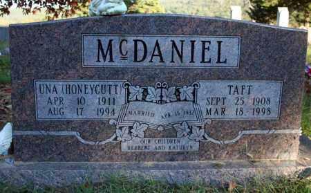 MCDANIEL, UNA - Searcy County, Arkansas   UNA MCDANIEL - Arkansas Gravestone Photos