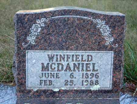 MCDANIEL, WINFIELD - Searcy County, Arkansas | WINFIELD MCDANIEL - Arkansas Gravestone Photos