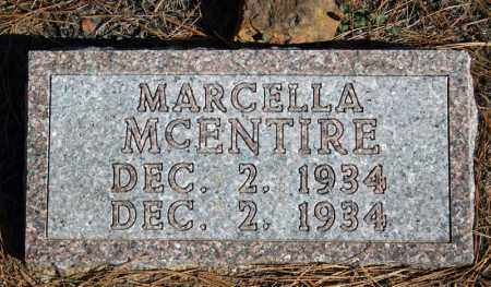 MCENTIRE, MARCELLA - Searcy County, Arkansas | MARCELLA MCENTIRE - Arkansas Gravestone Photos