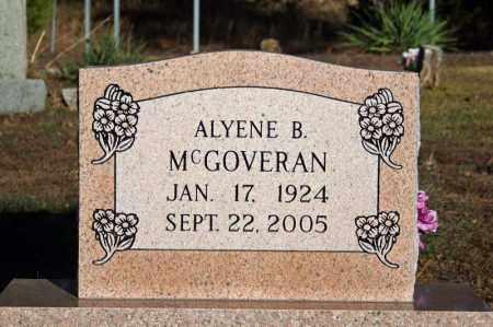 MCGOVERAN, ALYENE B. - Searcy County, Arkansas   ALYENE B. MCGOVERAN - Arkansas Gravestone Photos
