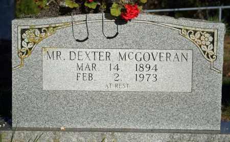 MCGOVERAN, DEXTER CLARK - Searcy County, Arkansas   DEXTER CLARK MCGOVERAN - Arkansas Gravestone Photos