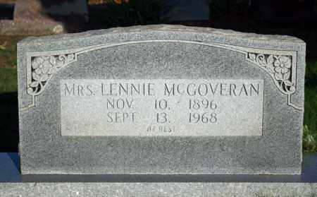 MCGOVERAN, MRS. LENNIE - Searcy County, Arkansas | MRS. LENNIE MCGOVERAN - Arkansas Gravestone Photos