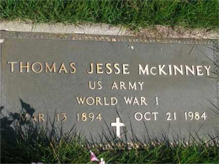 MCKINNEY (VETERAN WWI), THOMAS JESSE - Searcy County, Arkansas | THOMAS JESSE MCKINNEY (VETERAN WWI) - Arkansas Gravestone Photos