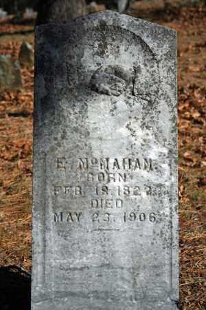 MCMAHAN, E. - Searcy County, Arkansas | E. MCMAHAN - Arkansas Gravestone Photos