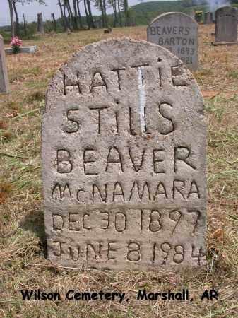 MCNAMARA, HATTIE - Searcy County, Arkansas | HATTIE MCNAMARA - Arkansas Gravestone Photos
