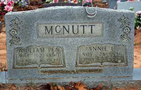 MCNUTT, ANNIE L. - Searcy County, Arkansas | ANNIE L. MCNUTT - Arkansas Gravestone Photos