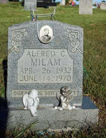MILAM  (VETERAN), ALFRED C - Searcy County, Arkansas | ALFRED C MILAM  (VETERAN) - Arkansas Gravestone Photos