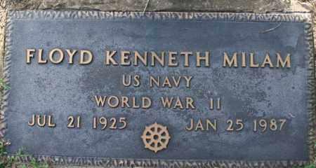 MILAM  (VETERAN WWII), FLOYD KENNETH - Searcy County, Arkansas | FLOYD KENNETH MILAM  (VETERAN WWII) - Arkansas Gravestone Photos