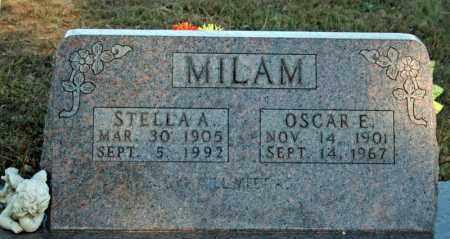 MILAM, OSCAR E. - Searcy County, Arkansas | OSCAR E. MILAM - Arkansas Gravestone Photos
