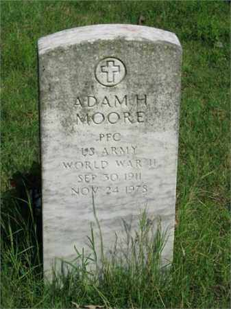 MOORE (VETERAN WWII), ADAM H - Searcy County, Arkansas | ADAM H MOORE (VETERAN WWII) - Arkansas Gravestone Photos