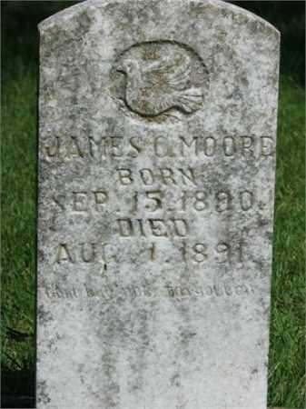 MOORE, JAMES C - Searcy County, Arkansas | JAMES C MOORE - Arkansas Gravestone Photos