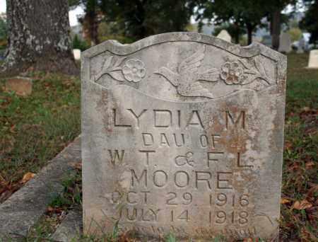 MOORE, LYDIA M. - Searcy County, Arkansas   LYDIA M. MOORE - Arkansas Gravestone Photos